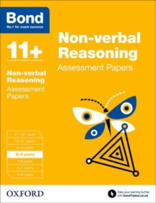 Image for Non-verbal reasoning8-9 years,: Assessment papers