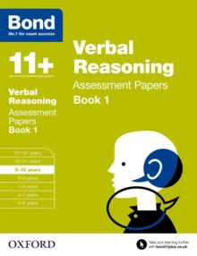 Image for Verbal reasoning9-10 years,: Assessment papers