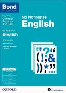 Image for No nonsense English10-11 years