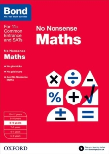 Image for No nonsense maths8-9 years