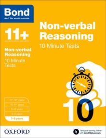 Image for Non-verbal reasoning7-8 years,: 10 minute tests