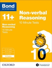 Image for Non-verbal reasoning8-9 years,: 10 minute tests