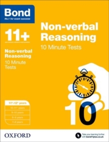 Image for Non-verbal reasoning11-12 years,: 10 minute tests