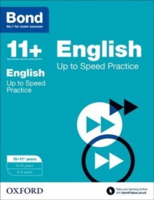 Image for English10-11 years,: Up to speed practice