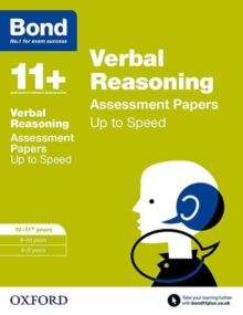 Image for Verbal reasoning10-11 years,: Up to speed practice