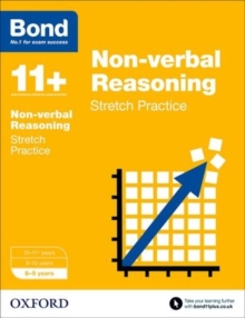 Image for Non-verbal reasoning8-9 years,: Stretch practice