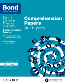 Image for English10-11 years,: Comprehension papers