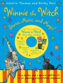 Image for Winnie the witch  : stories, music, and magic!