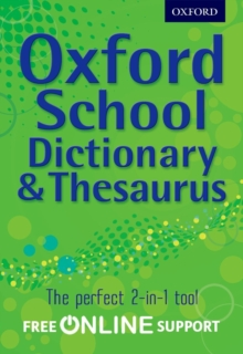 Oxford school dictionary & thesaurus - Oxford Dictionary