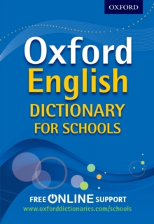 Image for Oxford English dictionary for schools