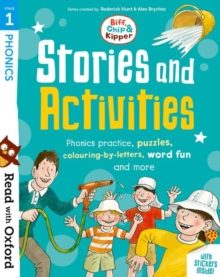 Image for Read with Oxford: Stage 1: Biff, Chip and Kipper: Stories and Activities : Phonics practice, puzzles, colouring-by-letters, word fun and more