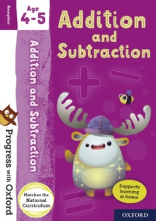 Progress with Oxford: Addition and Subtraction Age 4-5 - Clare, Giles