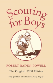 Image for Scouting for boys  : a handbook for instruction in good citizenship