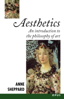 Image for Aesthetics  : an introduction to the philosophy of art