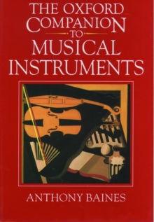 Image for The Oxford Companion to Musical Instruments