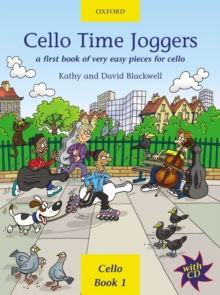 Image for Cello Time Joggers + CD : A first book of very easy pieces for cello