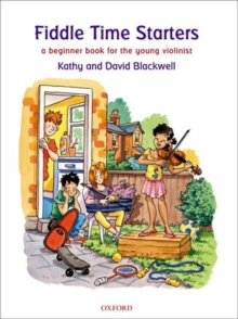 Image for Fiddle time starters  : a beginner book for violin