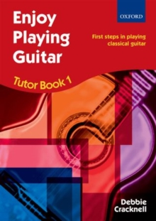 Image for Enjoy Playing Guitar Tutor Book 1 + CD : First steps in playing classical guitar