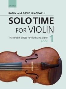 Image for Solo Time for Violin Book 1 + CD : 16 concert pieces for violin and piano