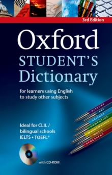Oxford Student's Dictionary Paperback with CD-ROM -