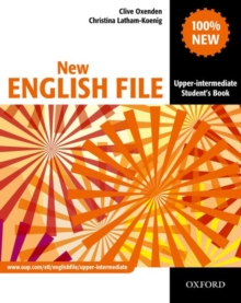 Image for New English file.: Upper-intermediate student's book