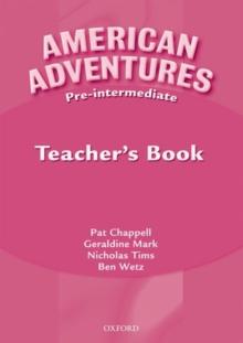 Image for American adventuresPre-intermediate,: Teacher's book