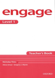 Image for Engage Level 1: Teacher's Book