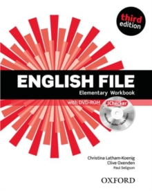 Image for English File third edition: Elementary: Workbook with iChecker with key