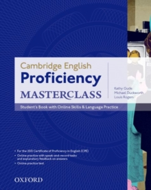 Image for Cambridge English: Proficiency (CPE) Masterclass: Student's Book with Online Skills and Language Practice Pack : Master an exceptional level of English with confidence