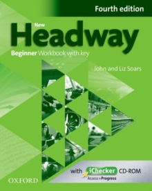 Image for New Headway: Beginner A1: Workbook + iChecker with Key : The world's most trusted English course