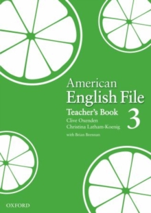 Image for American English File Level 3: Teacher's Book