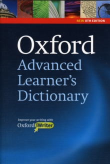 Image for Oxford Advanced Learner's Dictionary, 8th Edition: Paperback with CD-ROM (includes Oxford iWriter)