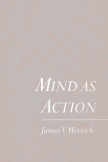 Image for Mind as mediated action