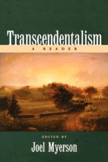 Image for Transcendentalism  : a reader