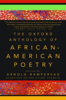 Image for The Oxford Anthology of African-American Poetry