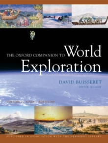 Image for The Oxford Companion to World Exploration