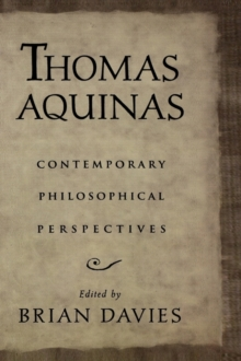 Image for Thomas Aquinas  : contemporary philosophical perspectives