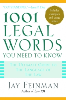 1001 Legal Words You Need to Know (1001 Words You Need to Know)
