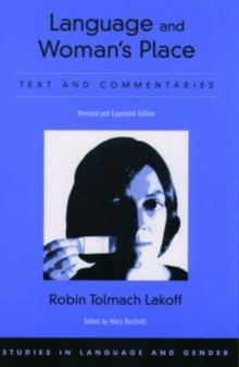 Image for Language and woman's place  : text and commentaries