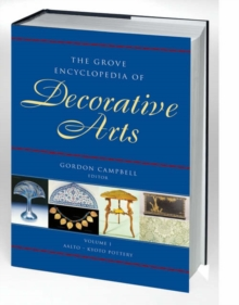 Image for The Grove encyclopedia of decorative arts