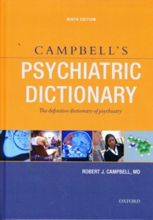 Image for Campbell's Psychiatric Dictionary