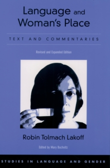 Image for Language and woman's place: text and commentaries