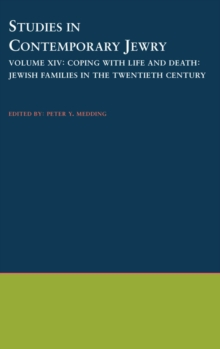 Image for Coping With Life and Death: Jewish Families in the Twentieth Century