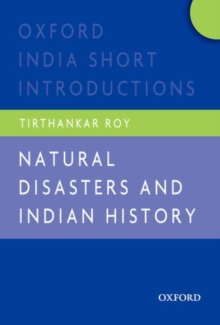Image for Natural disasters and Indian history