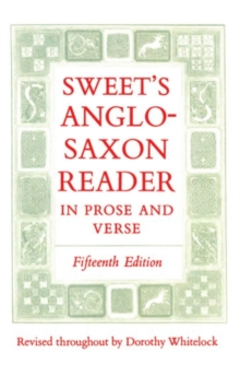 Image for Sweet's Anglo-Saxon Reader in Prose and Verse