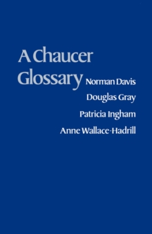 A Chaucer Glossary