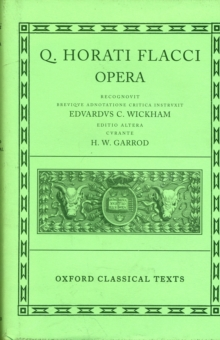 Image for Horace Opera