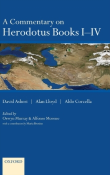 Image for A commentary on Herodotus books I-IV