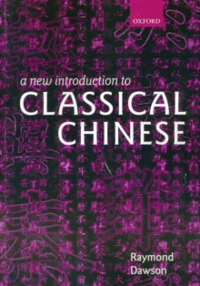 Image for A New Introduction to Classical Chinese