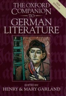 Image for The Oxford companion to German literature